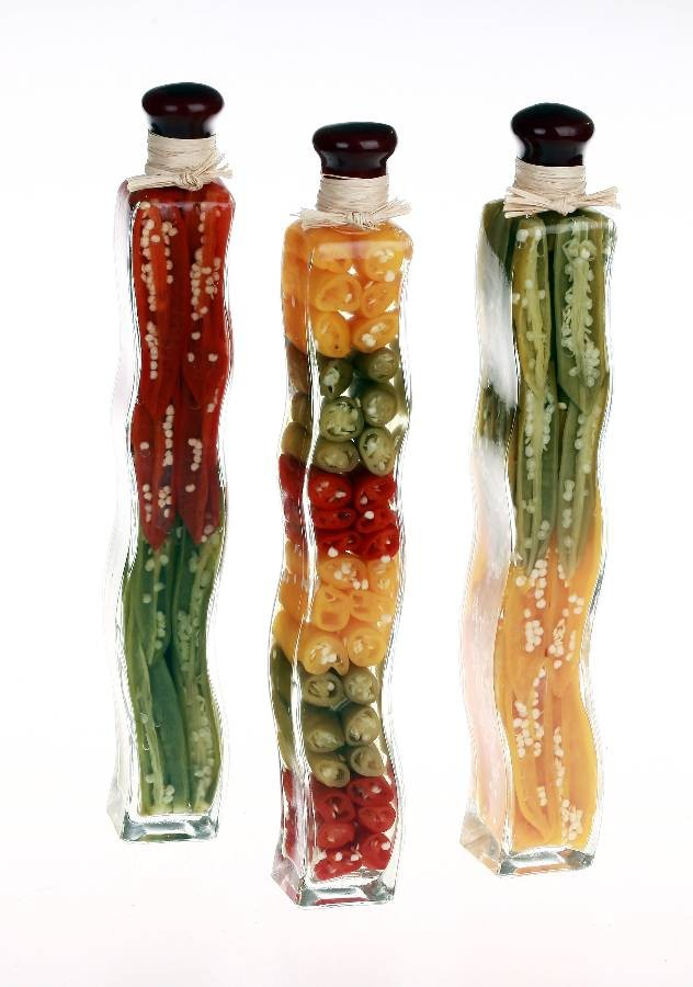 Decorative Bottles With Vegetables In Vinegar Awesome Decorative Vinegar Bottles  Products Inspiration