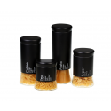GBS3021 Flairs 4 Piece Black Canister Set