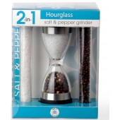 GPT1815A 2 in 1 Hourglass Salt and Pepper Grinder